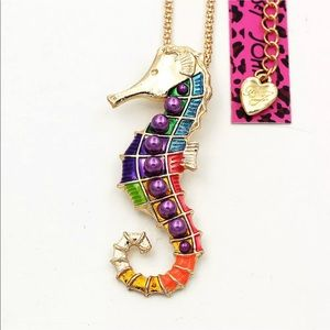 Colorful Seahorse Necklace